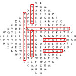 Word Search Vol1 Iss4 Answers