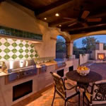 Outdoor kitchens and spaces